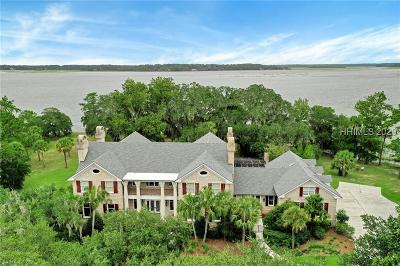 Bluffton SC Single Family Home For Sale: $6,500,000