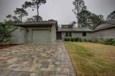 Hilton Head Island Single Family Home For Sale: 147 Otter Road