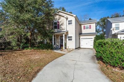 Bluffton Single Family Home For Sale: 6 Nob Hill Court