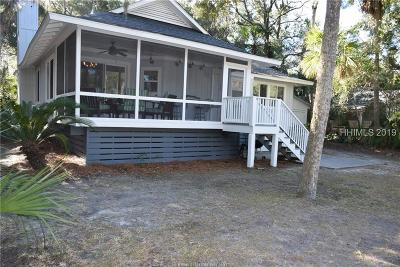 Fripp Island Single Family Home For Sale: 506 Gray Mallard Court