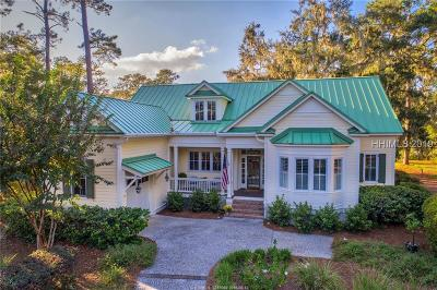 Daufuskie Island Single Family Home For Sale: 3 Lake Ridge Ct