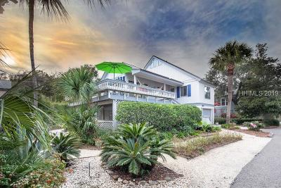 Hilton Head Island, Bluffton Single Family Home For Sale: 6 Robin St