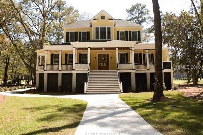 Daufuskie Island Single Family Home For Sale: 30 Captain Monroe Lane