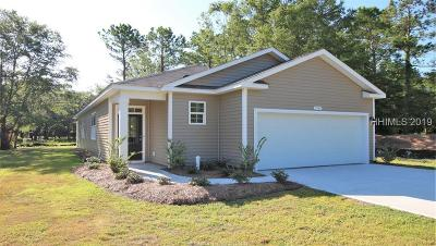 Bluffton SC Single Family Home For Sale: $229,990