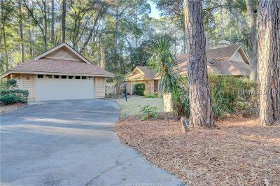 Hilton Head Island Single Family Home For Sale: 5 Edgewood Court