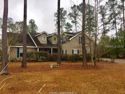 Jasper County Single Family Home For Sale: 255 Graham Hall S