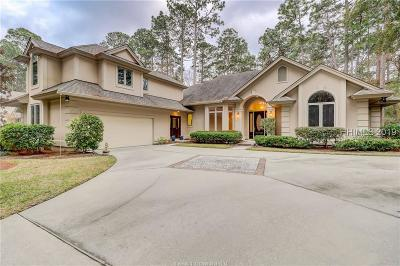 Hilton Head Island Single Family Home For Sale: 80 High Bluff Road