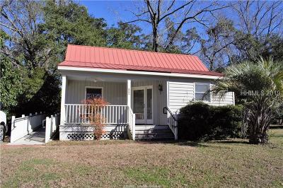 Jasper County Single Family Home For Sale: 179 Broad River Road