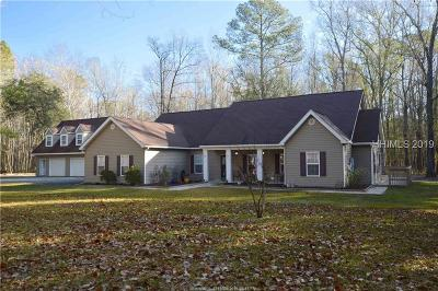 Hardeeville Single Family Home For Sale: 948 Pine Arbor Road