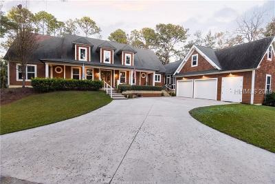 Hilton Head Island Single Family Home For Sale: 38 Blue Crab Manor
