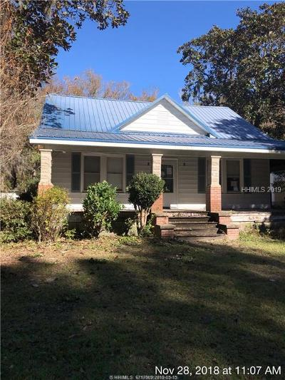 Jasper County Single Family Home For Sale: 1243 Floyd Road