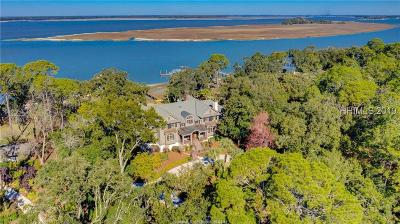 Hilton Head Island Single Family Home For Sale: 4 Calibogue Cay Road