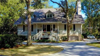 Hilton Head Island Single Family Home For Sale: 13 Donax Road
