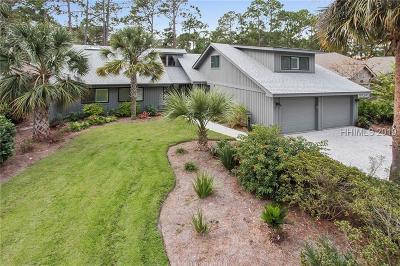 Hilton Head Island Single Family Home For Sale: 6 Trails End
