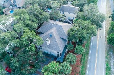 Hilton Head Island Single Family Home For Sale: 2 Osprey Street
