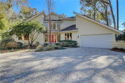 Hilton Head Island Single Family Home For Sale: 1 Saw Timber Drive