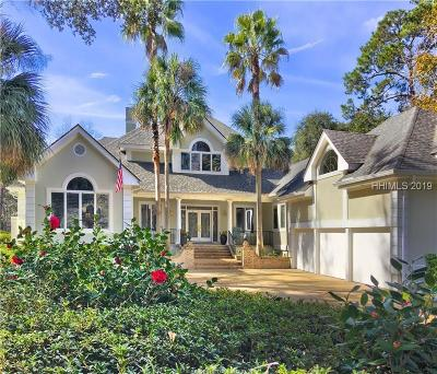 Beaufort County Single Family Home For Sale: 9 Wexford Drive