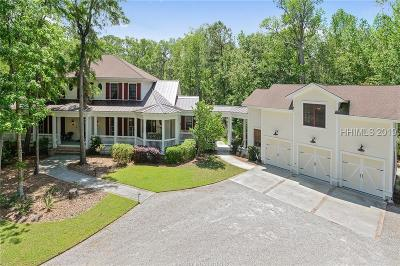 Bluffton Single Family Home For Sale: 55 Rose Dhu Creek Plantation Drive