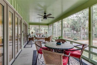 Hilton Head Island Single Family Home For Sale: 12 Canvasback Road