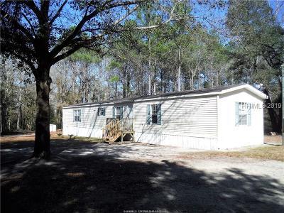 Jasper County Single Family Home For Sale: 2278 Langfordville Road