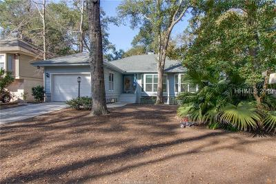 Hilton Head Island Single Family Home For Sale: 8 Evergreen Lane