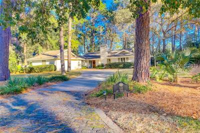 Hilton Head Island Single Family Home For Sale: 68 Saw Timber Drive