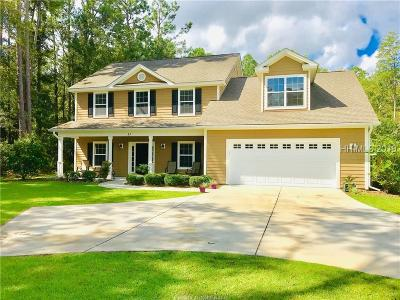Bluffton Single Family Home For Sale: 11 Olde Station Place