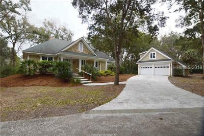 Hilton Head Island Single Family Home For Sale: 28 Blue Crab Manor