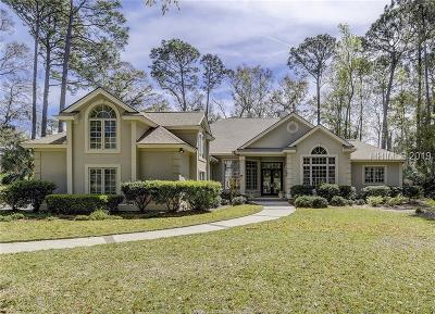 Hilton Head Island Single Family Home For Sale: 8 Retreat Lane