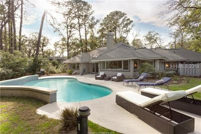 Hilton Head Island Single Family Home For Sale: 55 Knollwood Drive