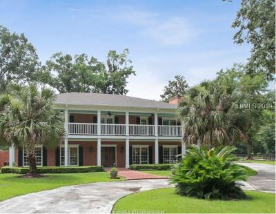 Bluffton Single Family Home For Sale: 10 Hackamore Drive