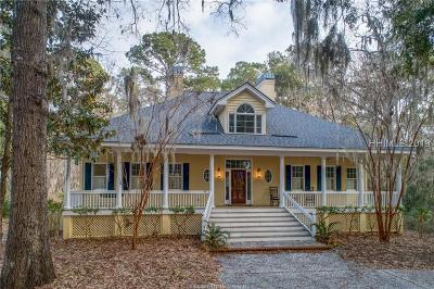 Daufuskie Island Single Family Home For Sale: 44 Forest Lake Drive