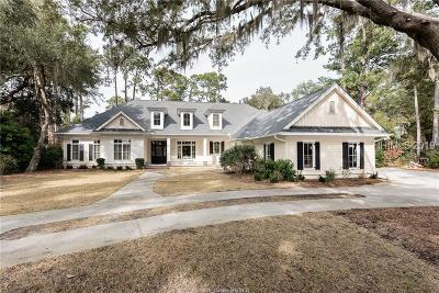 Hilton Head Island Single Family Home For Sale: 15 Widewater Rd