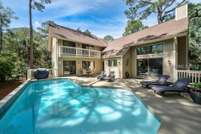 Hilton Head Island Single Family Home For Sale: 29 S Beach Lane
