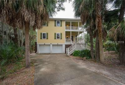 Fripp Island Single Family Home For Sale: 833 Bonito Dr NW