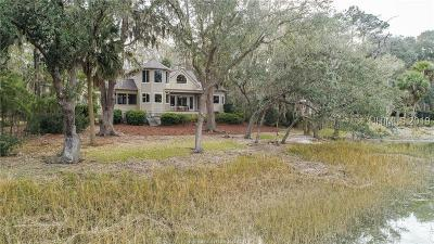 Bluffton Single Family Home For Sale: 45 Spartina Crescent