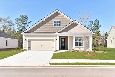 Bluffton SC Single Family Home For Sale: $300,990