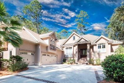 Hilton Head Island Single Family Home For Sale: 23 Long Brow Road
