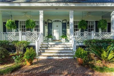 Beaufort Single Family Home For Sale: 145 Distant Island Drive