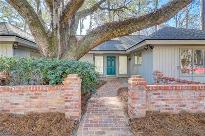 Hilton Head Island Single Family Home For Sale: 1 Myrtle Warbler Road