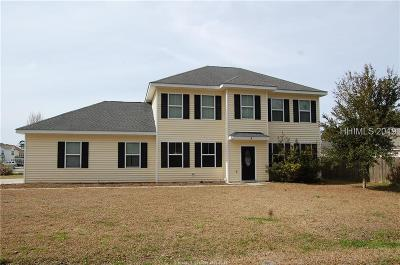 Beaufort County Single Family Home For Sale: 4 Wintergreen Drive