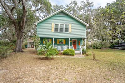 Port Royal Single Family Home For Sale: 814 11th Street