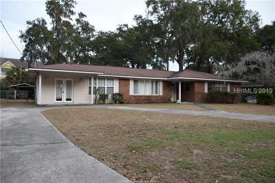 Beaufort Single Family Home For Sale: 2531 Azalea Drive