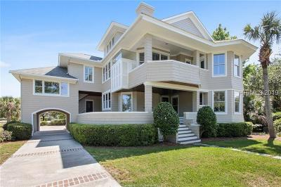 Hilton Head Island Single Family Home For Sale: 42 Ocean Point S