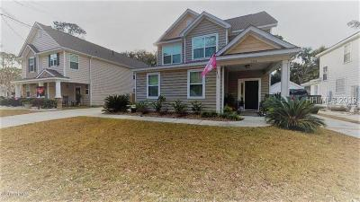 Beaufort Single Family Home For Sale: 504 Abner Lane
