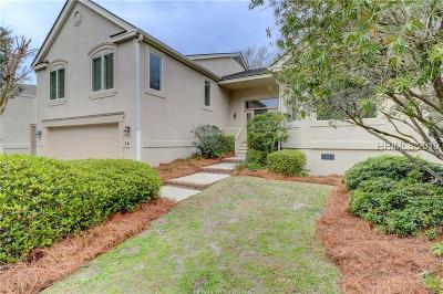 Hilton Head Island Single Family Home For Sale: 34 Fairway Winds Place