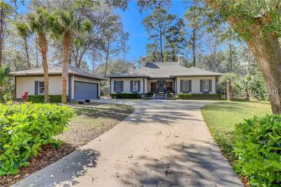 Hilton Head Island Single Family Home For Sale: 6 Strawberry Hill Road
