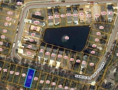 Hilton Head Island Residential Lots & Land For Sale: 71 Sandcastle Court