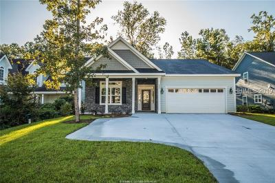 Bluffton Single Family Home For Sale: 233 Club Gate