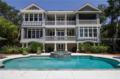 Hilton Head Island Single Family Home For Sale: 20 Donax Road